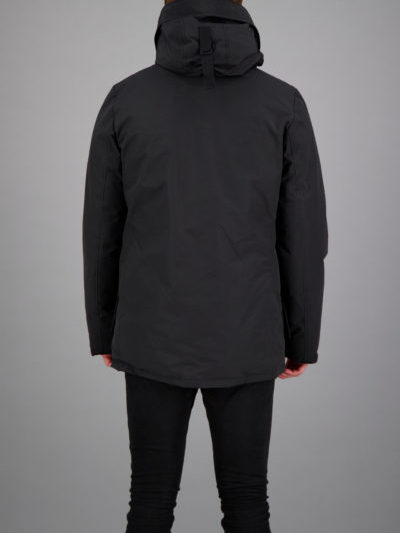 Airforce_heren_jassen_slimfit_parka_back_zw