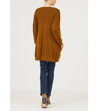 Isay_dames_vesten_vilda_long_cardigan_back_2_bru