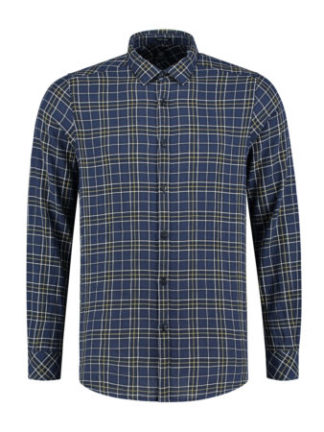dstrezzed_heren_overhemden_shirt_regular_collar_herringbone_check_torso_1_bl