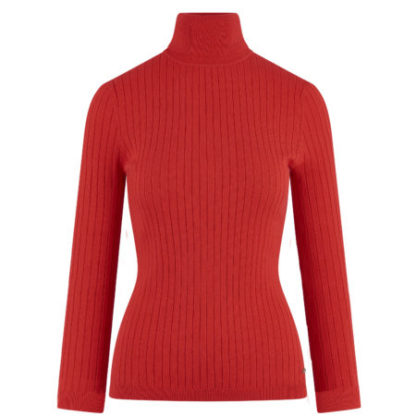 hvpolo_dames_truien_top_with_rollneck_scarlet_red