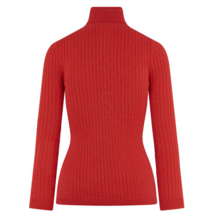 hvpolo_dames_truien_top_with_rollneck_scarlet_red_back