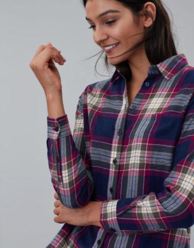 joules_dames_blouses_&_tunieken_Lorena_longline_brushed_woven_shirt_detail_4_ro
