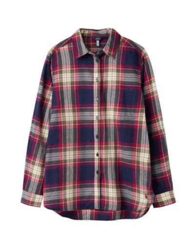 joules_dames_blouses_&_tunieken_Lorena_longline_brushed_woven_shirt_torso_5_ro
