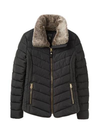 joules_dames_jassen_Gosway_Chevron_quilt_padded_jacket_with_hood_torso_2