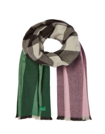 joules_dames_sjaals_Berkley_oversized_check_scarf_