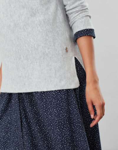 joules_dames_truien_Juniper_Cosy_dropped_shoulder_funnel_neck_With_rib_detail_detail_4_gri