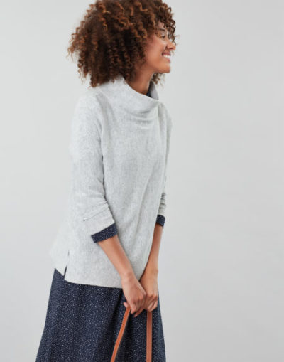 joules_dames_truien_Juniper_Cosy_dropped_shoulder_funnel_neck_With_rib_detail_zij_3_gri