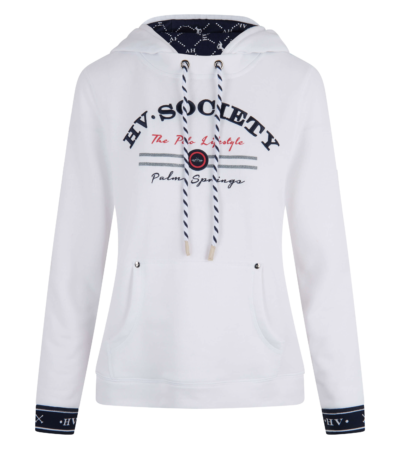0401103209 hvpolo sweater with hoody clarel hv white 1