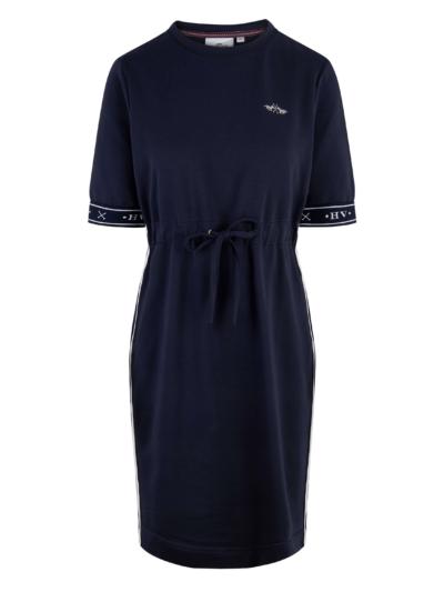 0402103203 hvpolo dress jade navy 1