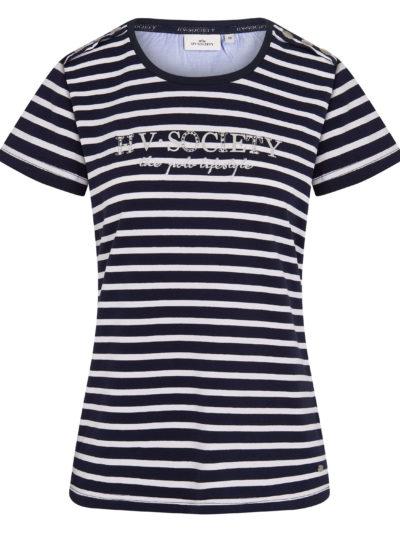 0403103222-5631 hvpolo t-shirt mildrit navy hv white 1