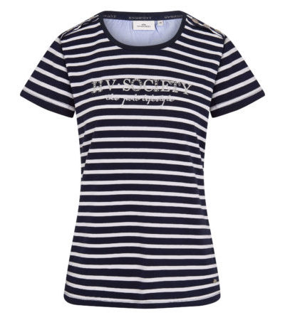 0403103222-5631 hvpolo t-shirt mildrit navy hv white 1