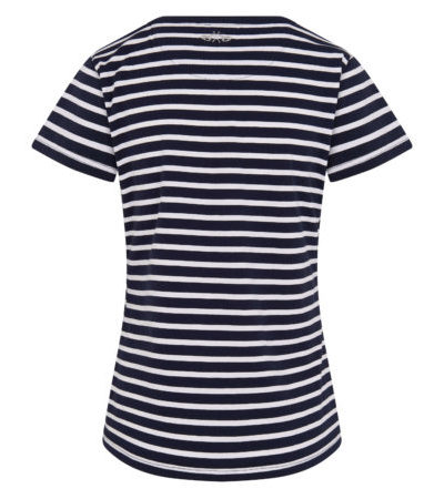 0403103222-5631 hvpolo t-shirt mildrit navy hv white 2