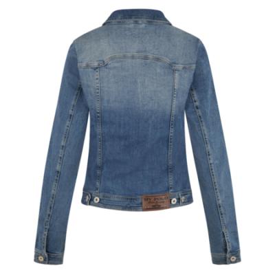 0406103120 hvpolo denim jacket aniek denim blue