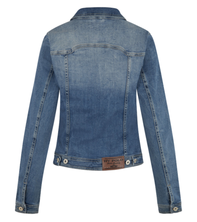 0406103120 hvpolo denim jacket aniek denim blue