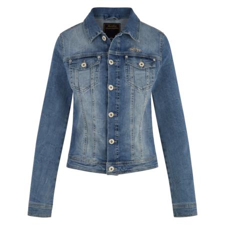0406103120 hvpolo denim jacket aniek denim blue 1
