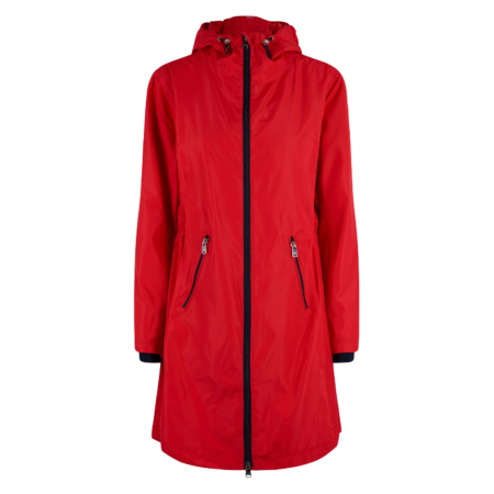0406103200 hvpolo long jacket newent scarlet red 1