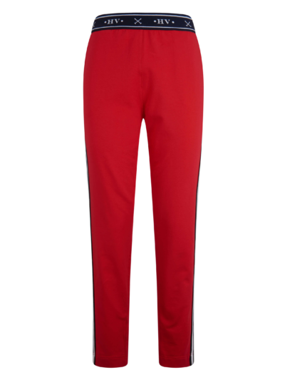 0407103202 hvpolo pants liva scarlet red 1