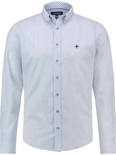 MC13-0110-04 Haze Finn Shirt AOP regular Blue Circles 1