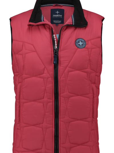 MC13-1030 Haze Finn Puffer Bodywarmer American Red 1