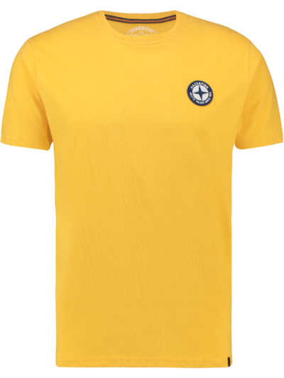 MU13-0010 Haze Finn Tee Logo Embro MellowYellow 1