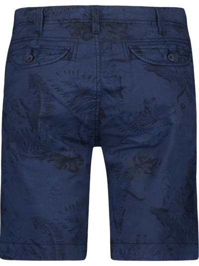 MU13-0518 Haze Finn Short Casual Print Navy Jungle AOP 2