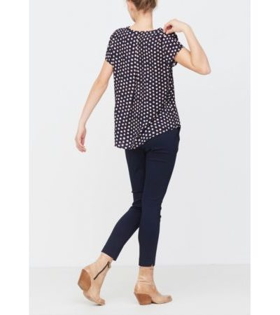 isay annica vneck blouse 55285
