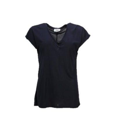 isay nugga v neck tshirt blauw 55483