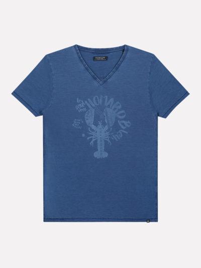 202546 677 dstrezzed v neck s s indigo slub jersey lt indigo