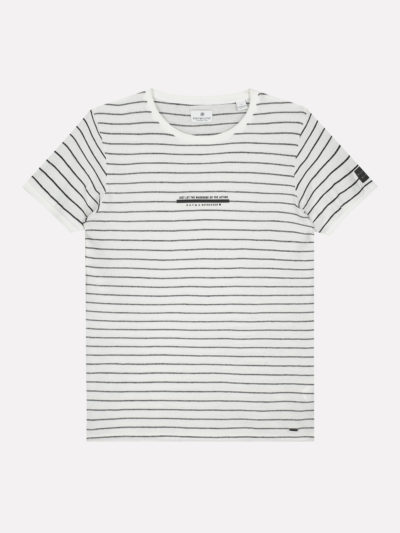202550 100 dstrezzed crew s s broken stripe white