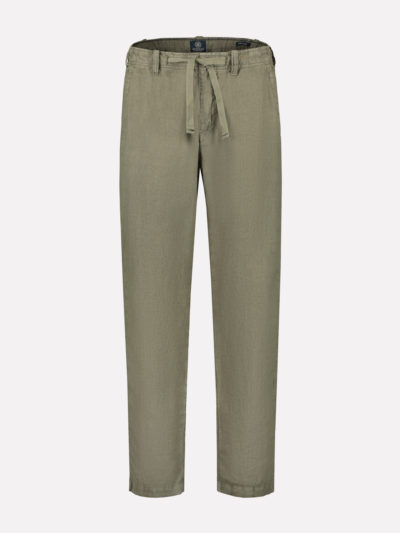 501356 511 dstrezzed loose beach pants heavy linen army green