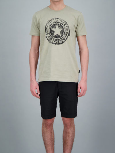 Airforce heren SCRATCHED LOGO T-SHIRT