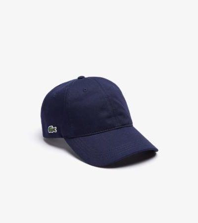 Lacoste Cap katoenen pet RK4709 166 donkerblauw