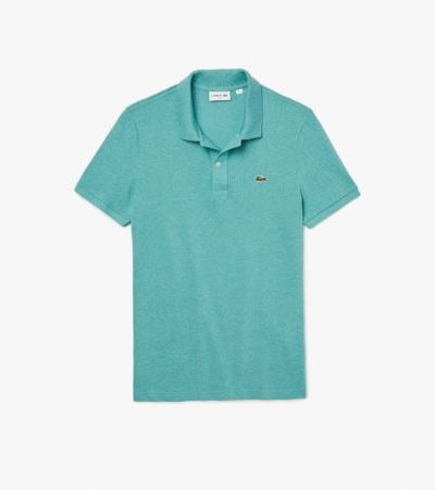 Lacoste slimfit polo PH4012 T8X lichtblauw