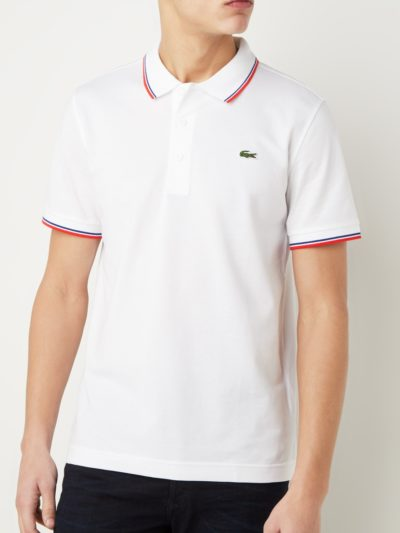 Lacoste training polo super light knit YH7900 SM8 wit