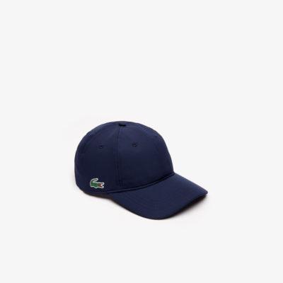 Lacoste Cap synthetische sport pet RK2447 166 donkerblauw