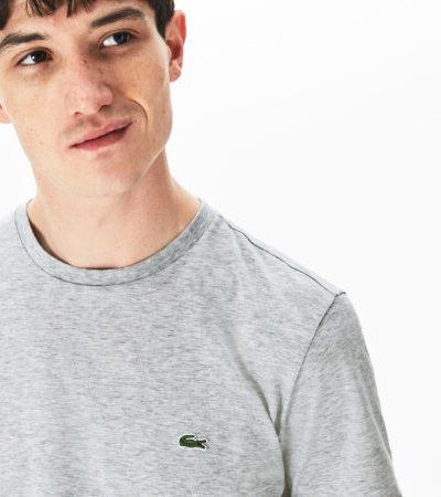 Lacoste t-shirt jersey pima cotton TH6709 CCA grijs