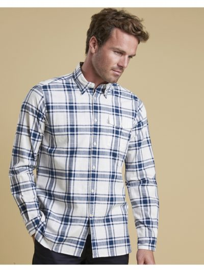 Heren Barbour Elver Shirt Willow