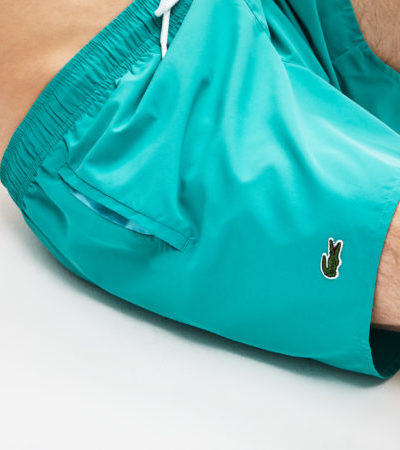 Lacoste swimming trunk zwembroek MH6270 PM7 lichtblauw