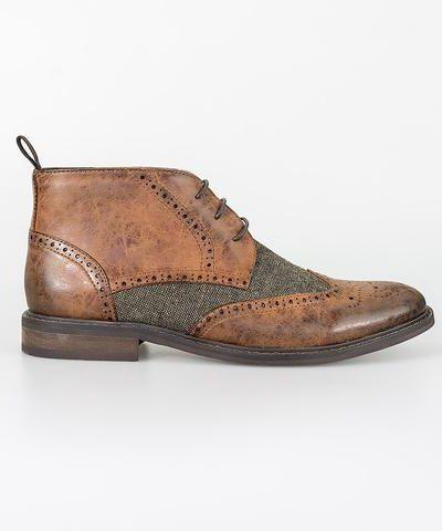 Cavani_heren_schoenen_Curtis_tan_zij_2