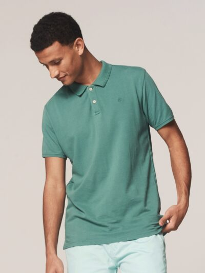 Dstrezzed Bowie Basic Polo s/s Polo Pique oil green 1