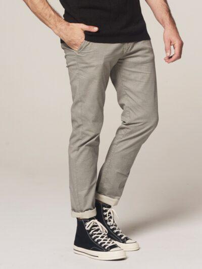 Dstrezzed-Chino-Pants-Mini Pattern-Stretch-Twill-Sand 4