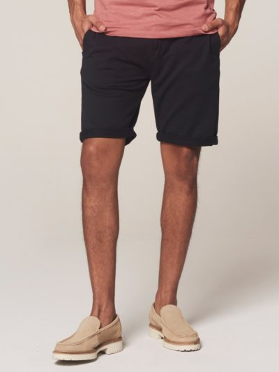 Dstrezzed Chino Shorts Peach Terry Dk. Navy 2