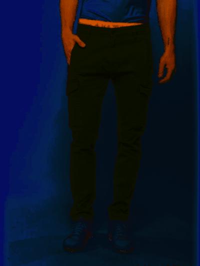 Haze&Finn_heren_Broek_Cargo_Pants_Khaki_3