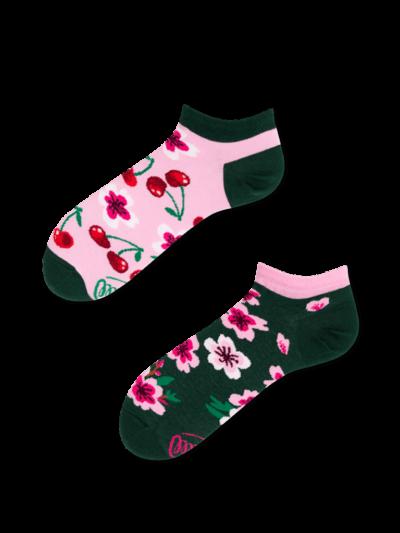 Many_Mornings_sokken_Unisex_Cherry_Blossom_Low