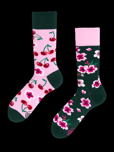 Many_Mornings_sokken_Unisex_Cherry_Blossom_Regular