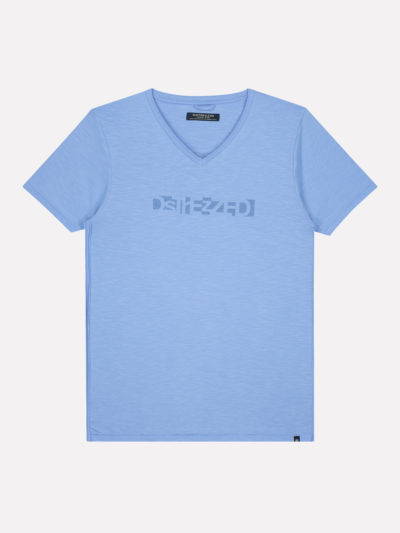 Dstrezzed_heren_t-shirts_V-Neck_Dstrezzed_Logo_Tee_Slub_Jersey_1