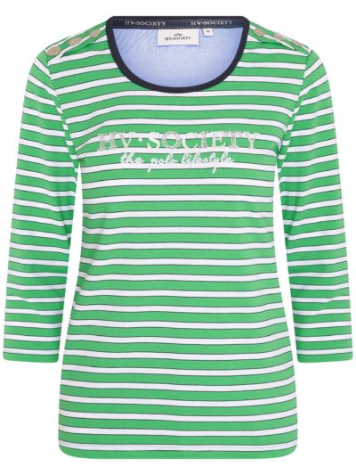 HVPolo_dames_t-shirts_Mildrit_groen-wit_1 (1)