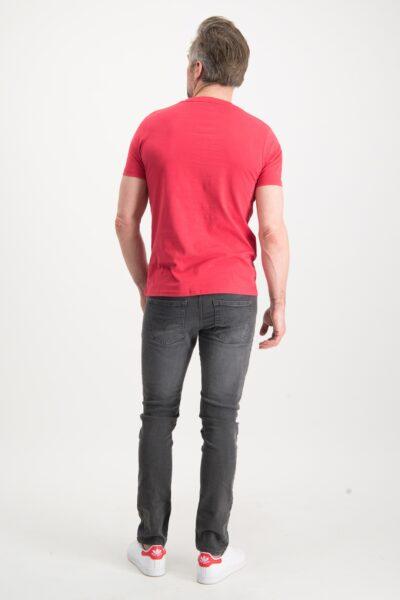 Haze&Finn_heren_t-shirts_Tee_Husky_HD_rood_3