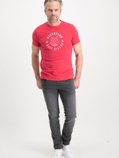 Haze&Finn_heren_t-shirts_Tee_Husky_americanred-white_2