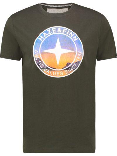 Haze&Finn_heren_t-shirts_Tee_arctic_groen_1